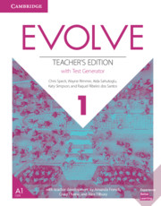 Evolve Level 1 Teacher's Edition With Test Generator