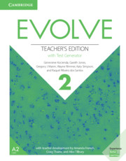 Evolve Level 2 Teacher's Edition With Test Generator