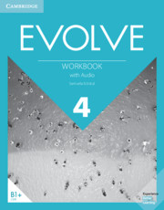 Evolve Level 4 Workbook with Audio