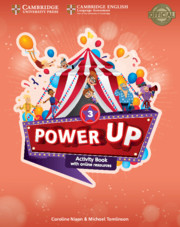 Power Up Level 3 Activity Book with Online Resources and Home Booklet