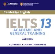 Cambridge IELTS 13 Audio CDs (2)