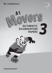 A1 Movers 3 Answer Booklet