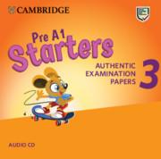 Pre A1 Starters 3 Audio CD