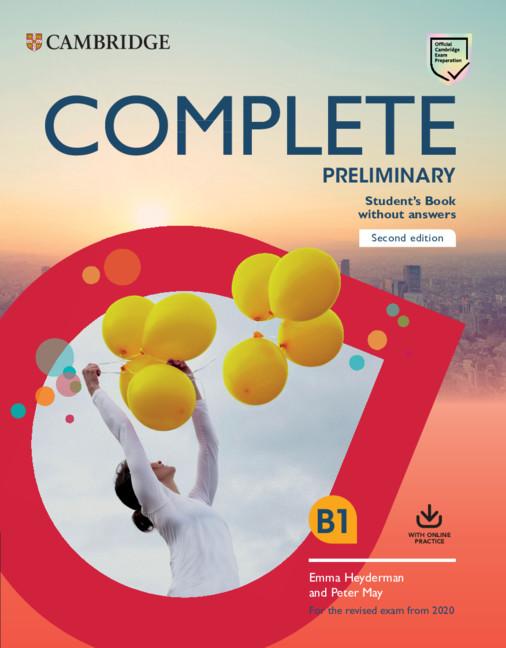 Complete Preliminary SB no ans + online practice (2020 Exams)