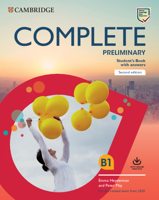 Complete Preliminary SB with ans + online practice (2020 Exams)