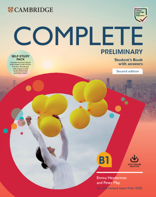 Complete Preliminary Self Study Pack (Sb + ans + Online Pract + Wb + Ans + Audio Downl + Class Audi