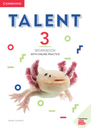 Talent Level 3 Workbook With Online Practice
