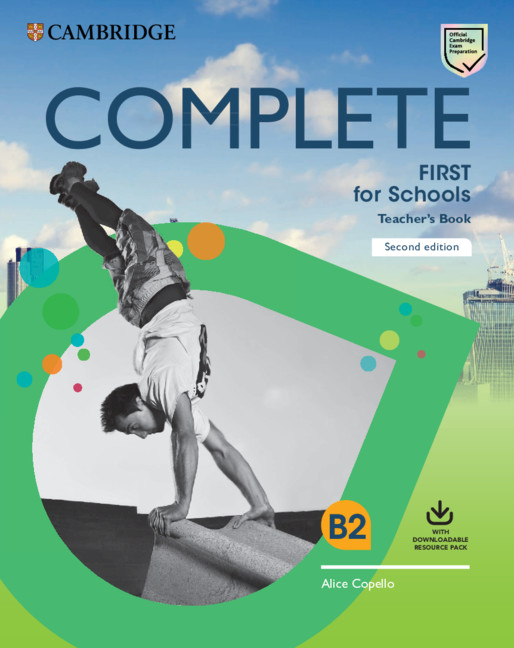 Complete First For Schools TB + Download Res Pack (Class Audio + Teacher's Photocop Worksheets)