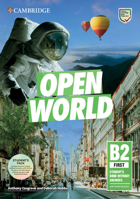 Open World First SB pack (SB wo ans with Online Practice and WB wo ans with Audio Download)