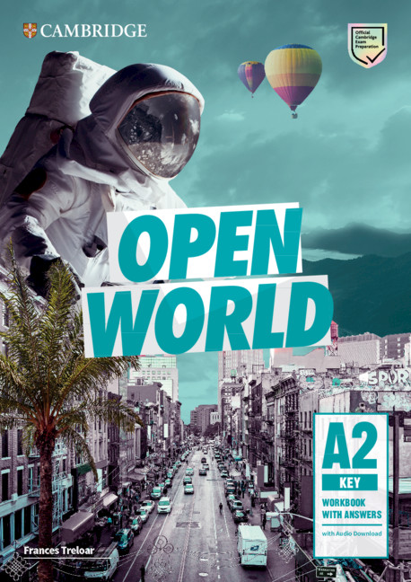 Open World Key WB with ans + Audio Download
