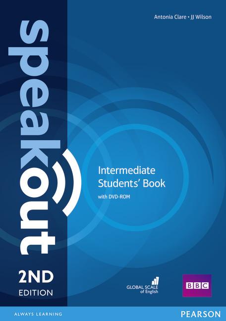 Speakout 2nd Ed Intermediate Students'+DVD