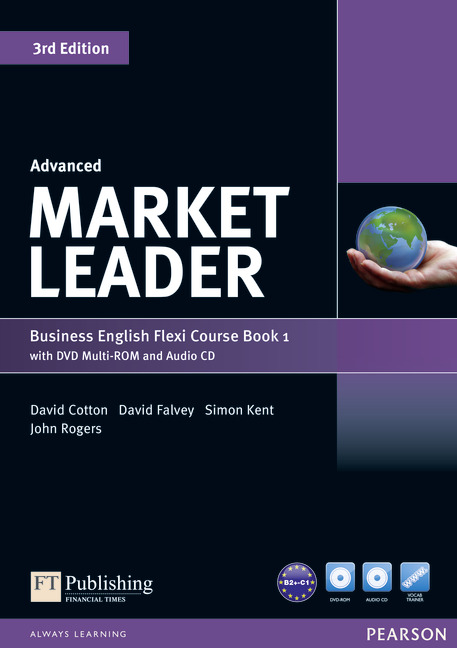 Market Leader 3rd Edition Advanced Flexi Coursebook A with DVD-ROM and Audio CD