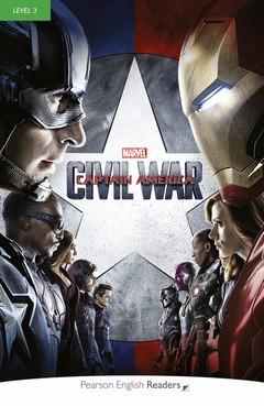 Marvel Captain America Civil War Bk/MP3 CD