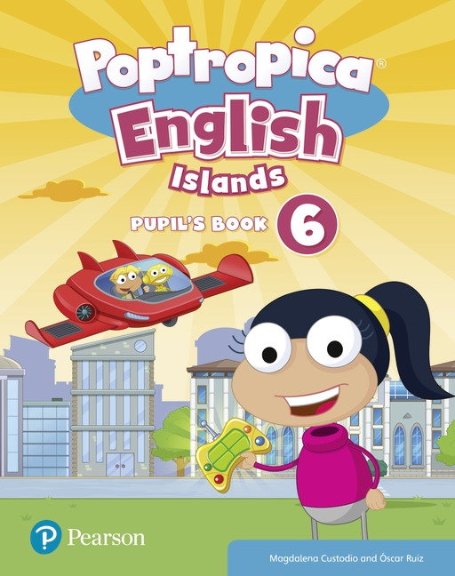 Poptropica English Islands: Level 6: Pupil's Book + Online World Access Code
