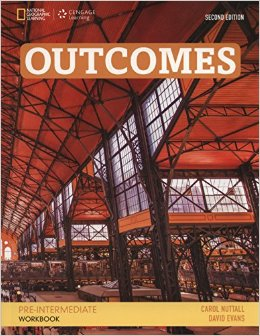Outcomes Second Edition Pre-Intermediate Workbook + CD