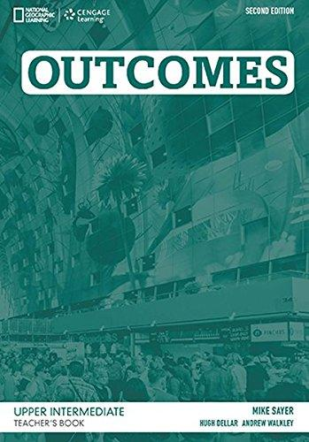 Outcomes Second Edition Upper-Intermediate Teacher's Book + CD