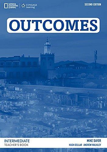 Outcomes Second Edition Intermediate Teacher's Book + Clas CD
