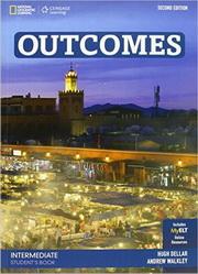 Outcomes Secind Edition Intermediate Student's Book + DVD