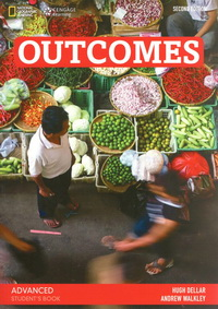 Outcomes Second Edition Advanced Student's Book + DVD