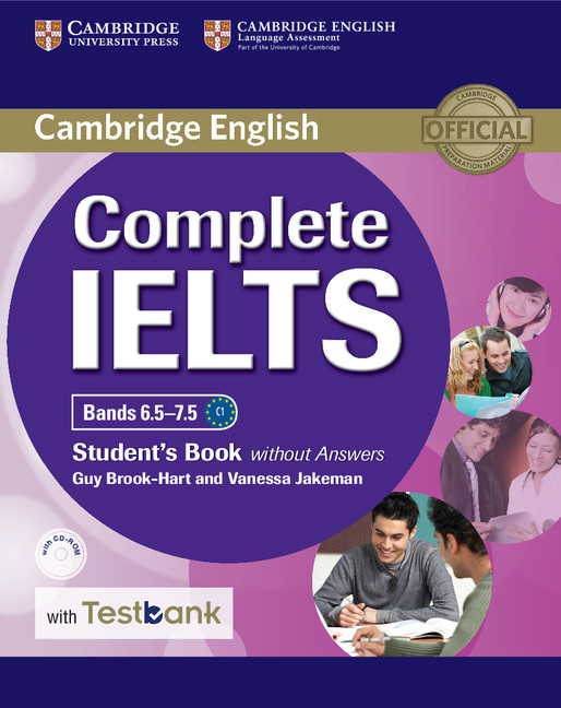 Complete IELTS Bands 6.5-7.5 SB without Ans with CD-ROM with Testbank