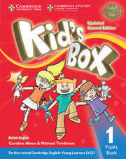 Kid's Box Updated  2Ed Pupil's Book 1