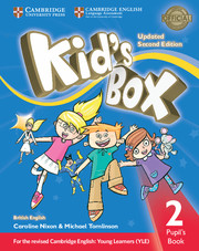 Kid's Box Updated 2Ed Pupil's Book 2