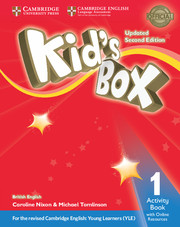 Kid's Box Updated 2Ed Activity Book  1 +Online Res