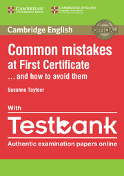 Common Mistakes at FCE PB with Testbank