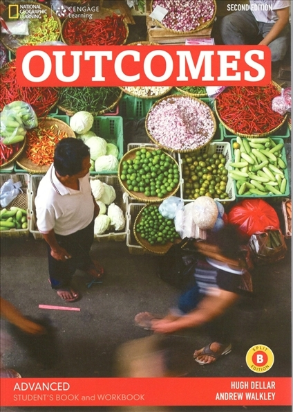 Outcomes Second Edition Advanced Student's Book SPLIT B + Class DVD-ROM