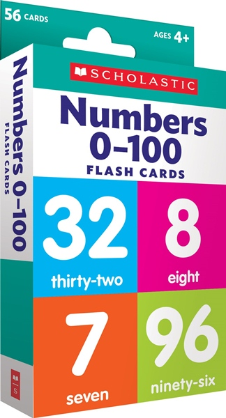 Flash Cards: Numbers 0 - 100 ***