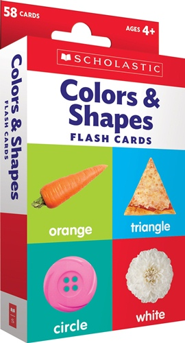 Flash Cards: Colors & Shapes ***
