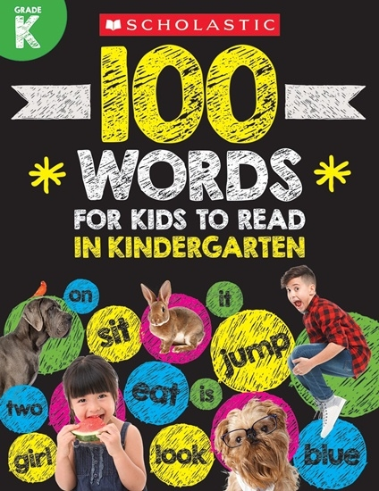 100 Words for Kids to Read in Kindergarten