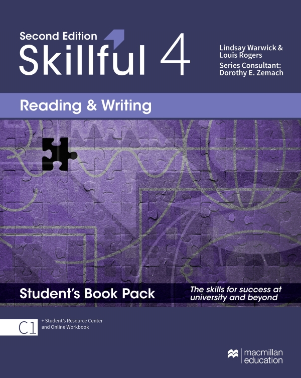 Skillful Second Edition Level 4 Reading and Writing Premium Student's Book Pack