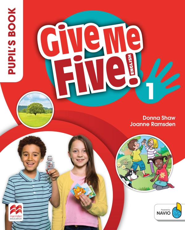 Give Me Five! Level 1 Pupil's Book Pack With Navio App