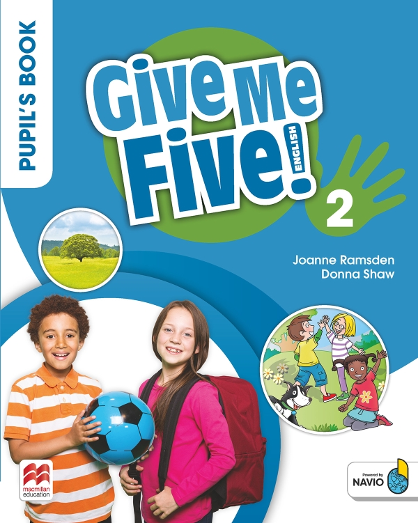 Give Me Five! Level 2 Pupil's Book Pack With Navio App