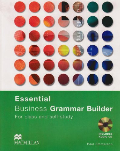 Essential Business Grammar Builder Grammar Reference + Audio CD