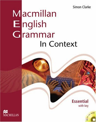 Macmillan English Grammar In Context Essential Student's Book With Key + CD-ROM Pack