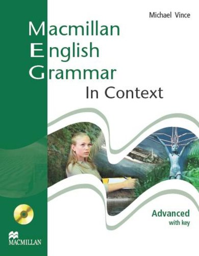 Macmillan English Grammar In Context Advanced Student's Book With Key + CD-ROM Pack
