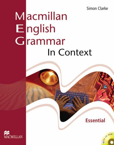 Macmillan English Grammar In Context Essential Student's Book Without Key + CD-ROM Pack