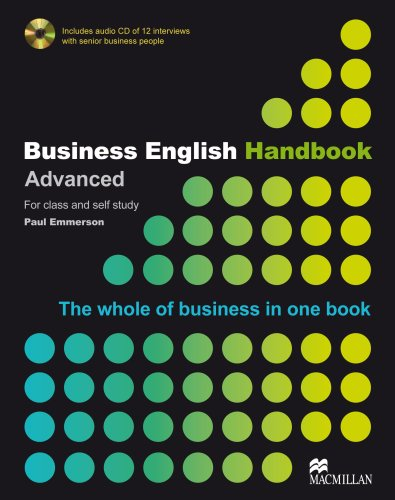 Business English Handbook Advanced Grammar Reference + Audio CD