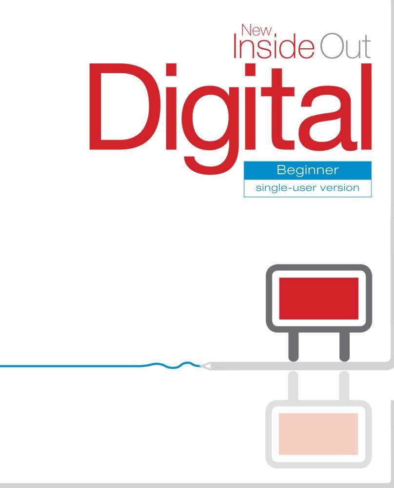 New Inside Out Beginner Digital for Interactive Whiteboards DVD-ROM Single User