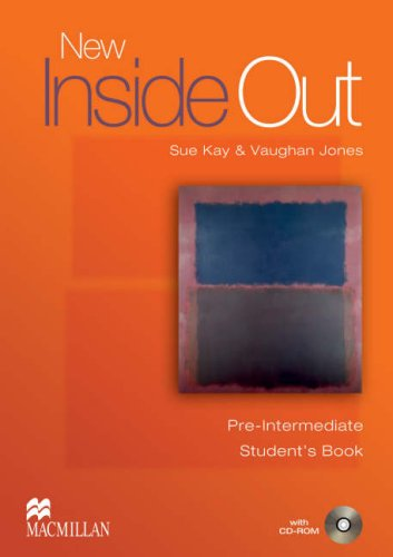 New Inside Out Pre-Intermediate Student's Books with CD-ROM