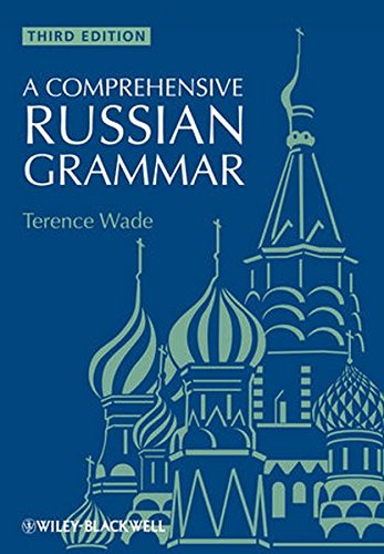 A Comprehensive Russian Grammar, 3rd Ed