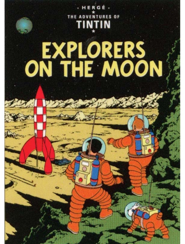 Adventures of Tintin: Explorers on the Moon
