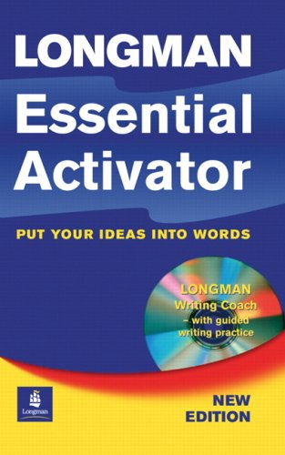 Longman Essential Activator (New Edition) Paper with CD-ROM