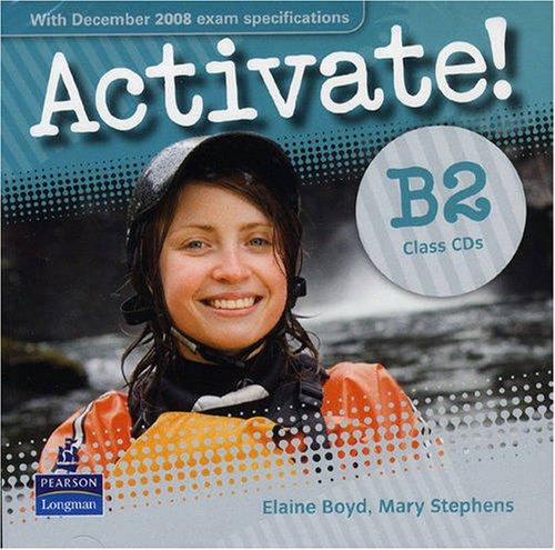 Activate! B2 Class CD x2 !!