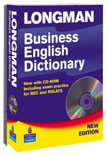 Longman Business Dictionary New Edition Paper and CD-ROM