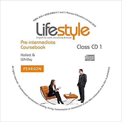 Lifestyle Pre-Intermediate Class CDs