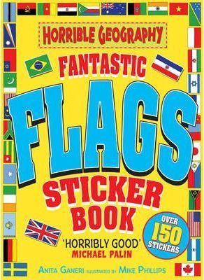 Horrible Geography: Fantastic Flags Sticker Book #ост./не издается#