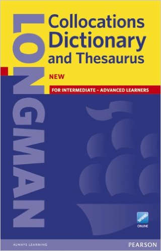 Longman Collocations Dictionary and Thesaurus Cased + online access